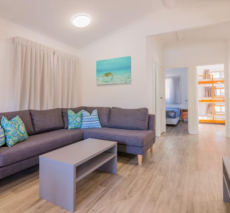 3 Bedroom Villa at the Blue Dolphin Holiday Resort in Yamba