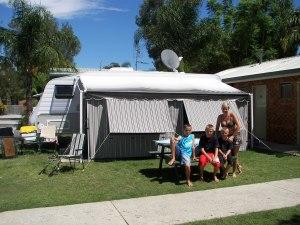 Family caravan site