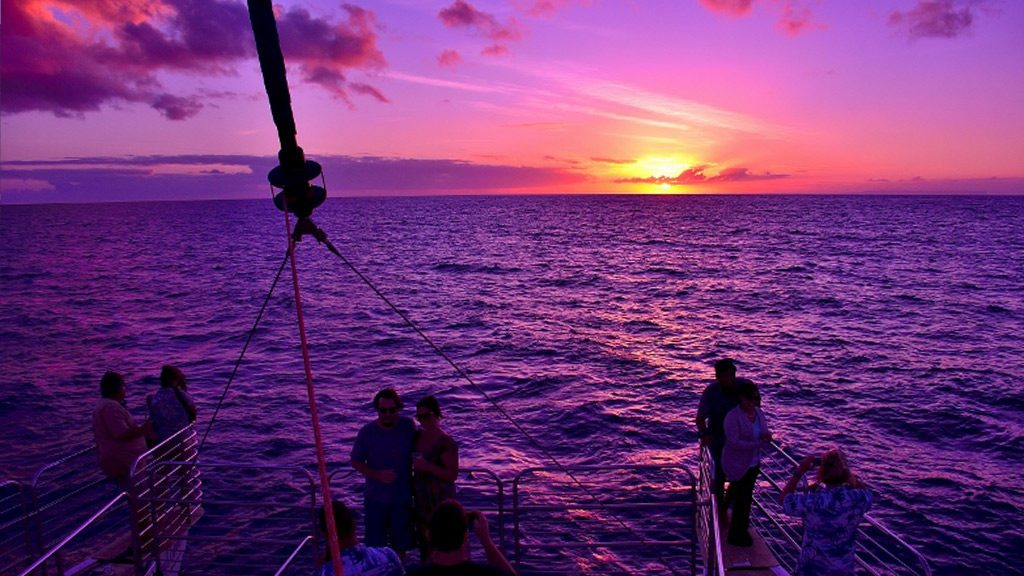 Napali Sunset Cruises  Blue Dolphin Charters