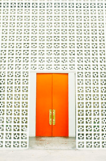 Orange Door, Parker, Palm Springs