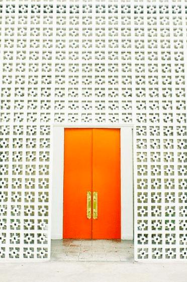 Orange Door, Parker, Palm Springs