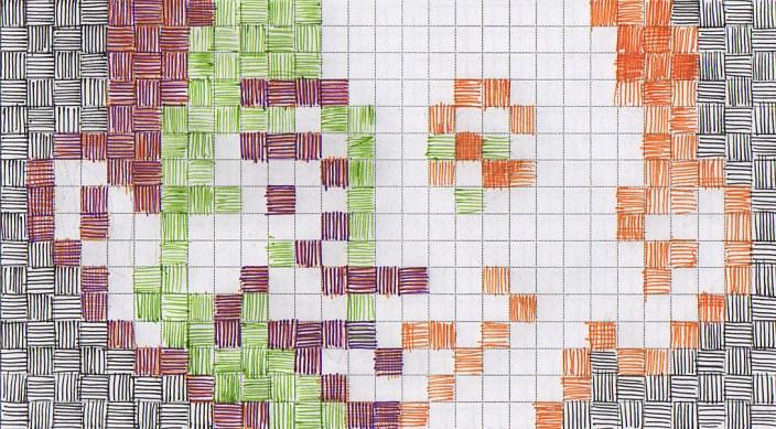 Pen & Ink Pixel Illustration - Alfred E. Neuman