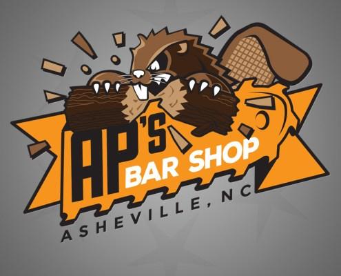 Logo Design - AP's Bar Shop