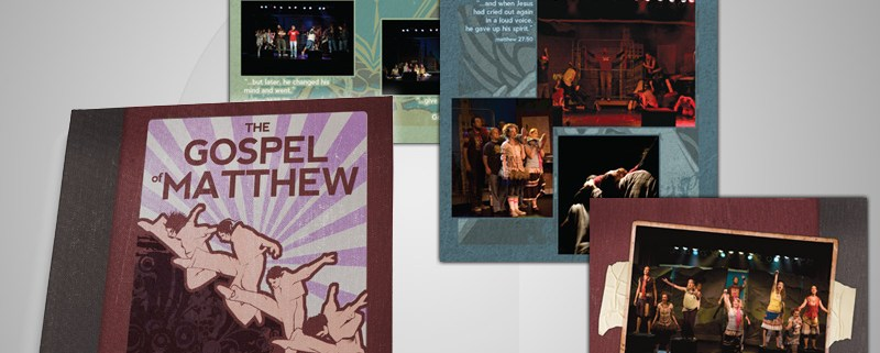 Godspell Picture Book Design