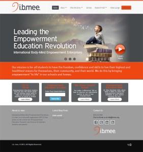 Asheville Web Design for I.B. Mee
