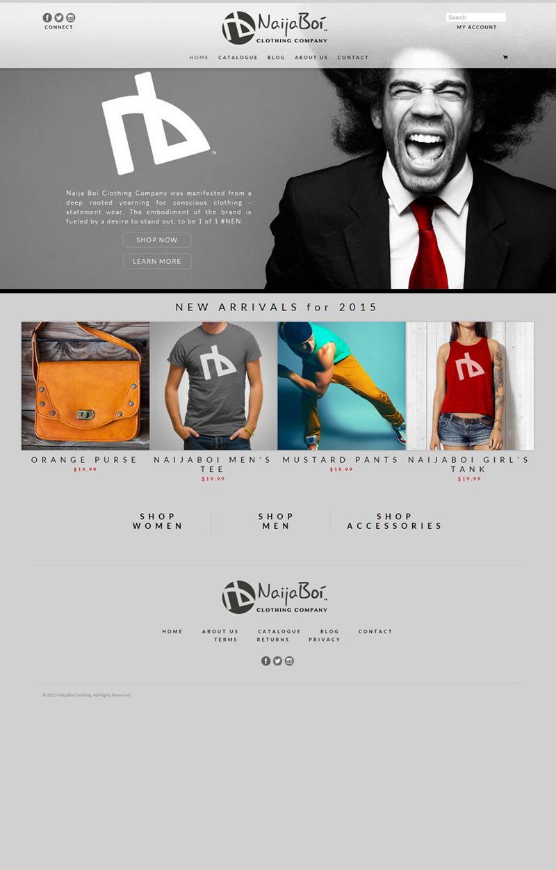 Web Design for Naijaboi