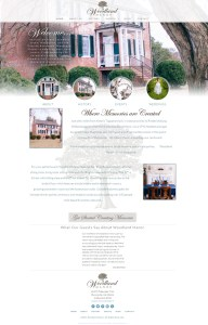 Web Design for Woodland Manor