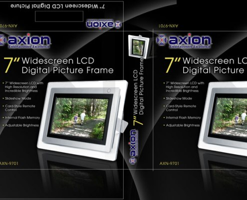 Packaging Design - Axion Photo Frame