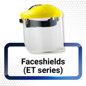 T series Face shields