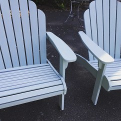 Distressed Adirondack Chairs High Quality Dining Room In Duck Egg Blue