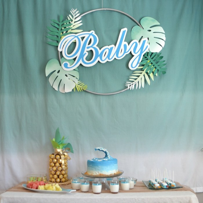 Beach Themed Baby Shower!