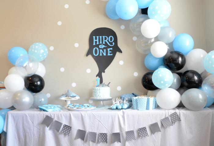 Whale Shark Themed 1st Birthday Party
