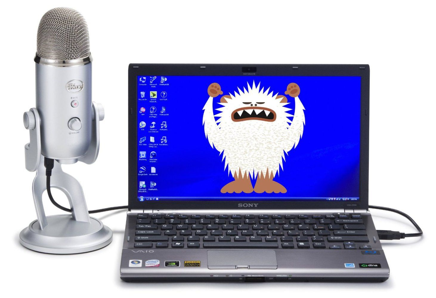 Blue Yeti review - I mean, it's actually silver 1