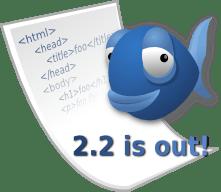 Logotipo Bluefish Editor 2.2