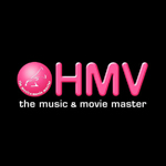A logo for HMV music