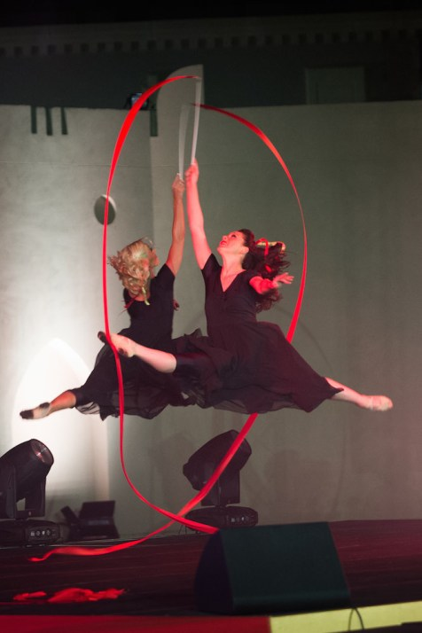 Ribbon Dancers