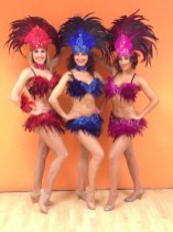 Brazilian dancers performing at Rio themed event