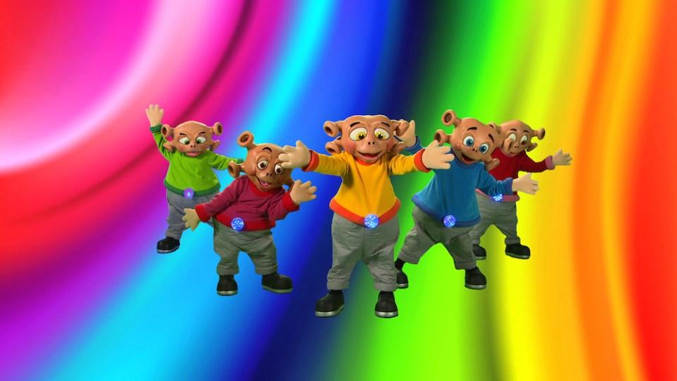 The Zoonies dancing