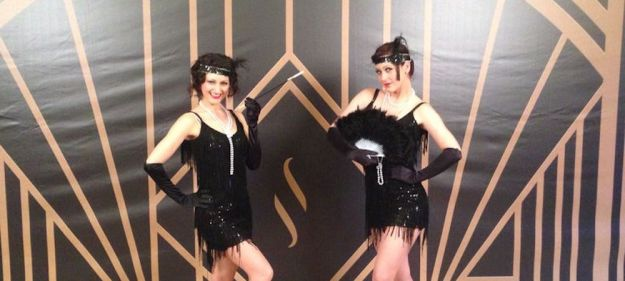 Great Gatsby Dancers in Costume