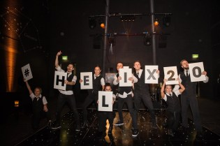 Flash Mob Dancers promoting 20th year of Helix Property