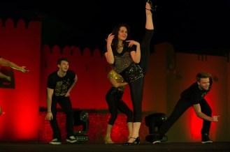 Leg extension- dancer