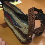 Box loom bag