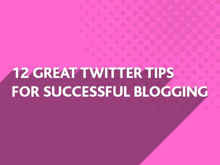 Twitter tips for successful blogging from BlueFlameDesign