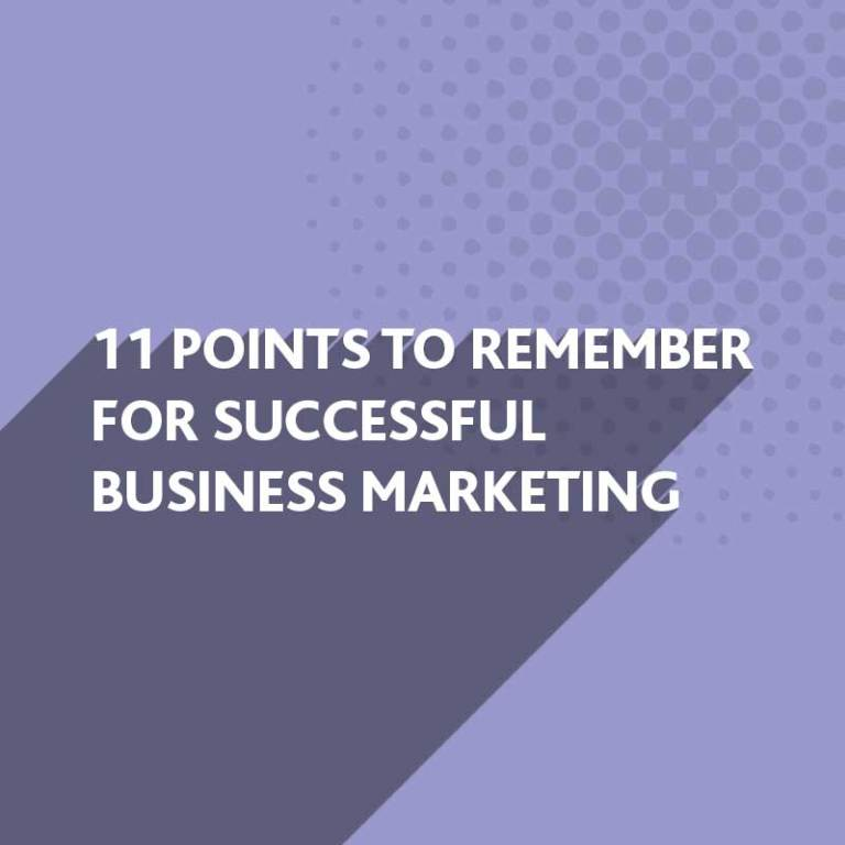 Tips for successful business marketing