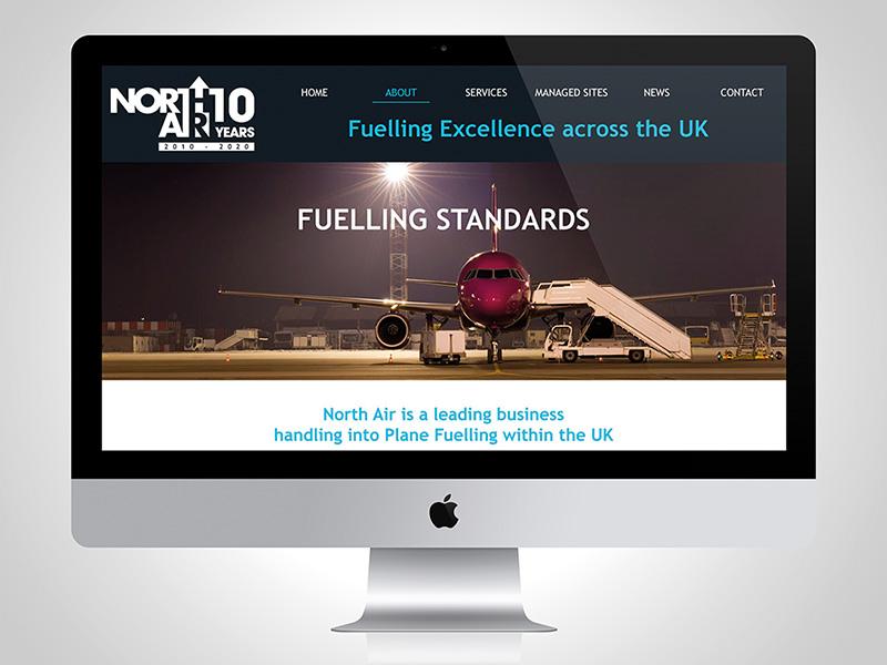 Website design for North Air