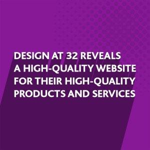 Website design for DESIGN at 32, Storrington