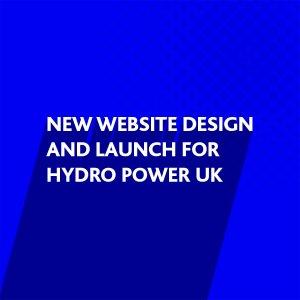 New website design for Hydro Power UK Ltd, Storrington