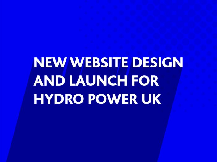 New website design for Hydro Power UK Ltd, Storrington