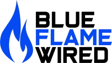 Blue Flame Wired
