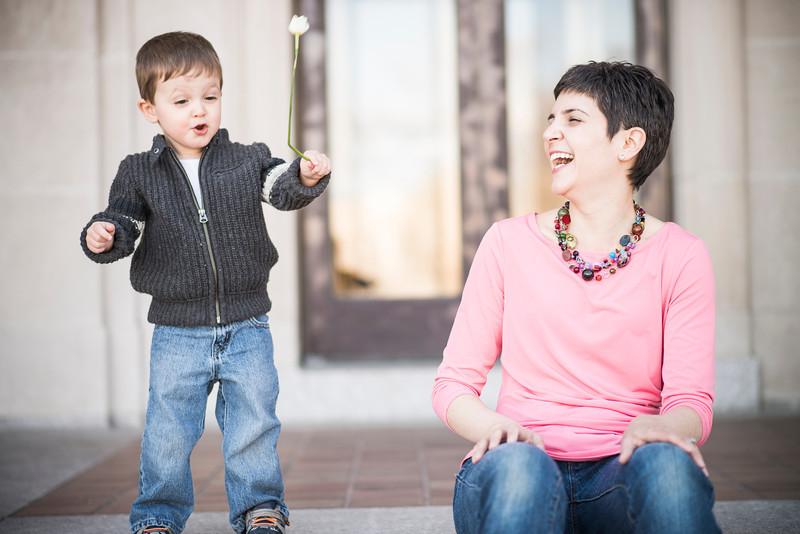 Steph and Emmett Mother\