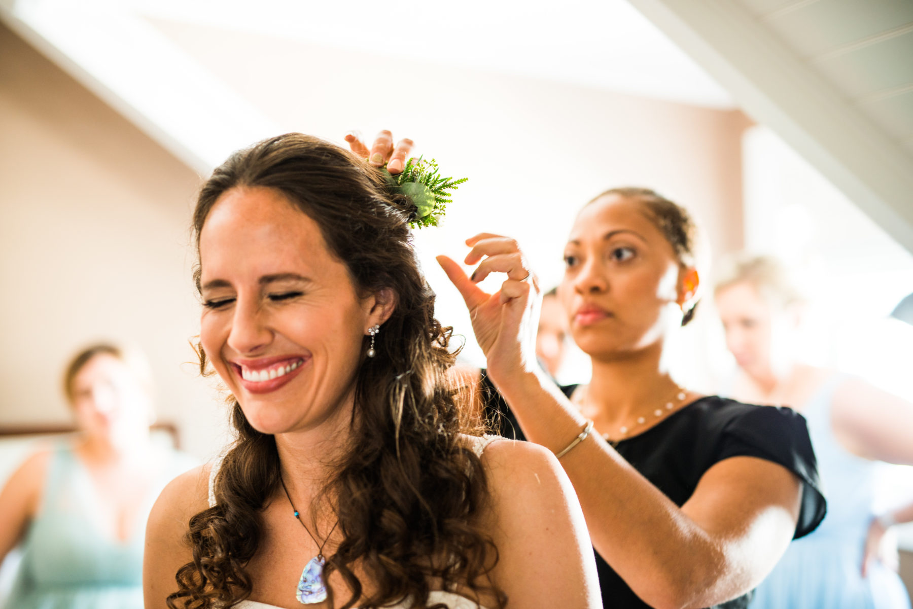 Sarah and Mason | Castle Hill Newport Wedding | Blueflash Photography