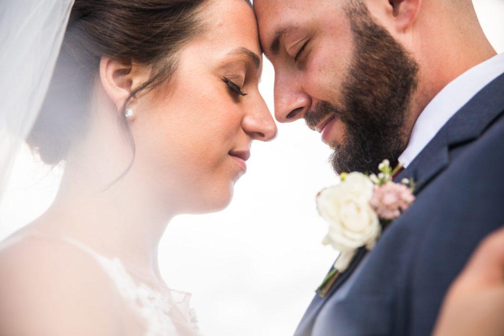 bride and groom wedding portrait inspiration