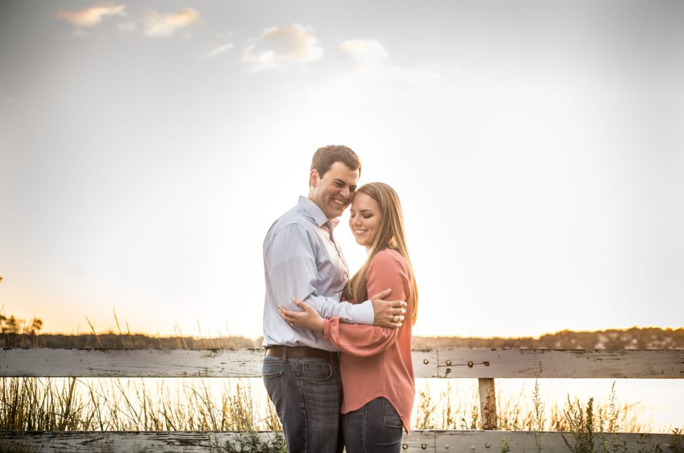 Kelly and Richie | World's End Engagement Session
