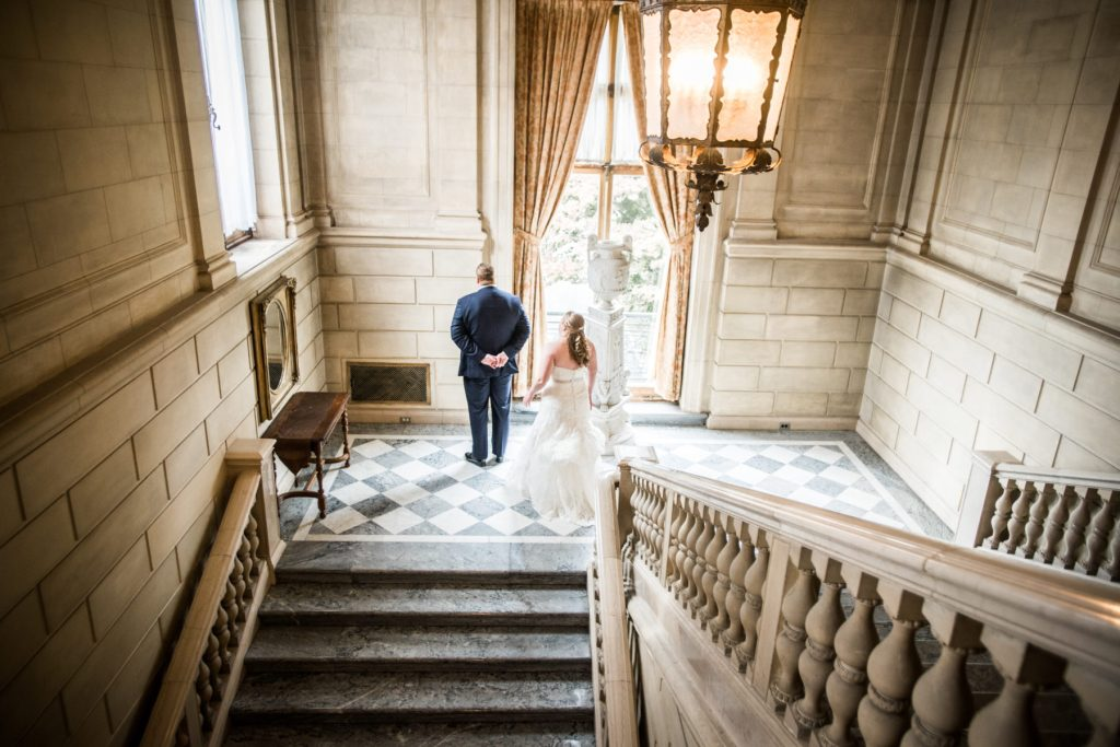 Loren and Logan | Wedding at Aldrich Mansion in Warwick RI| Blueflash Photography
