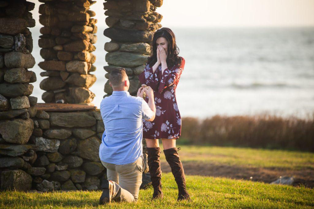 Ryan and Nora   Little Compton Proposal   Blueflash Photography