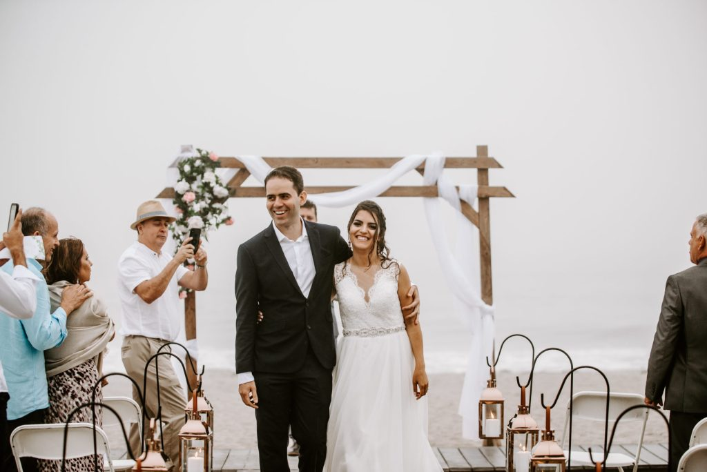 Galilee Beach Club Vow Renewal | Ana Ligia and Helbert