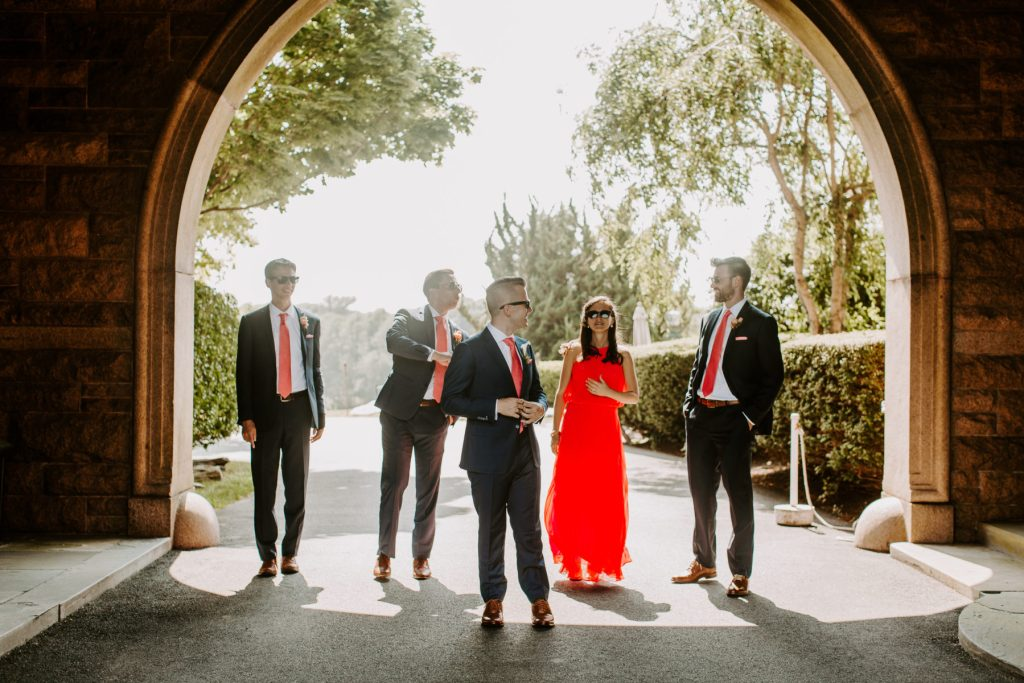 Ocean Cliff Newport Wedding Gena and Ricky Blueflash Photography8