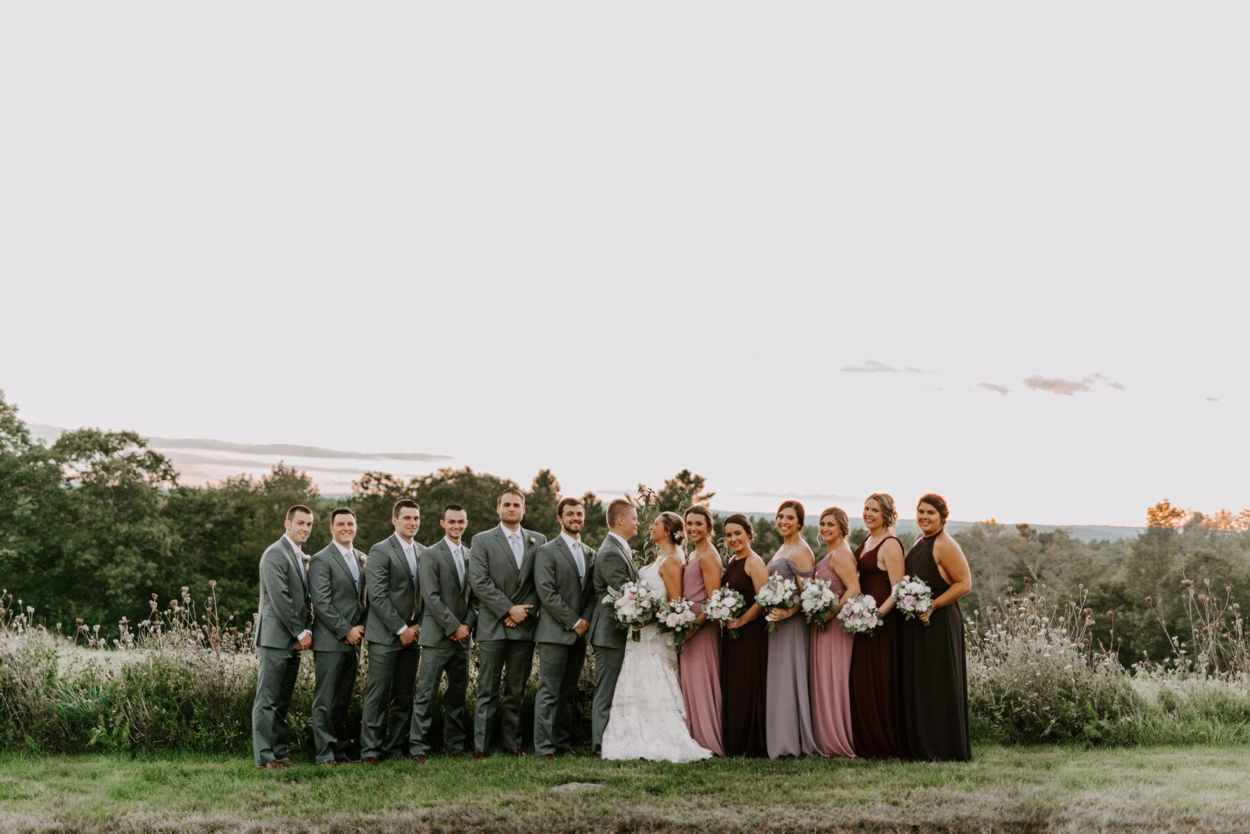 Harrington Farm Princeton Wedding Stephanie and Jared Blueflash Photography 17