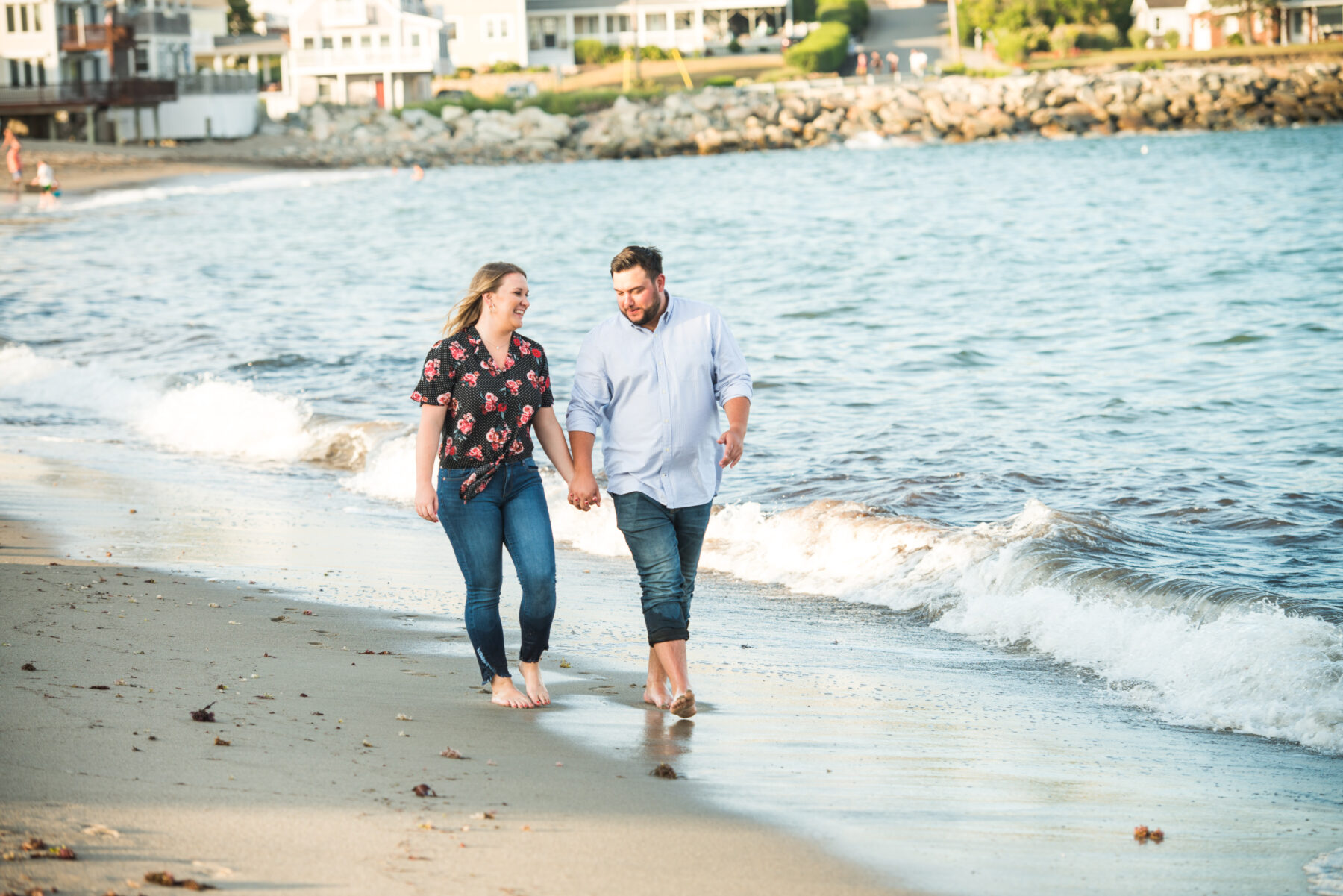 Scituate Lighthouse Engagement Melissa and Dan Blueflash Photography 11