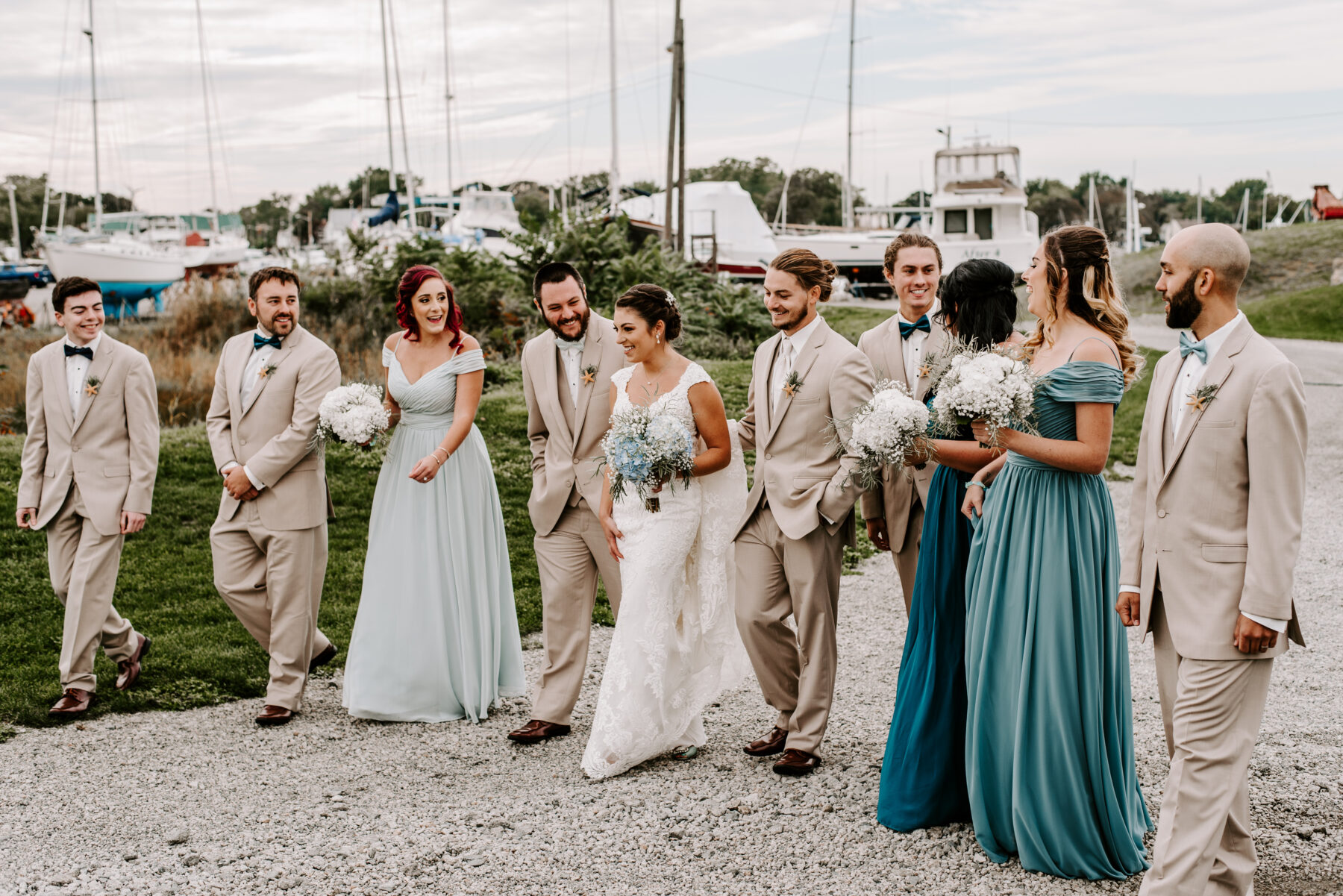 Harbor Lights Warwick Wedding Jackie and Casey Blueflash Photography 1