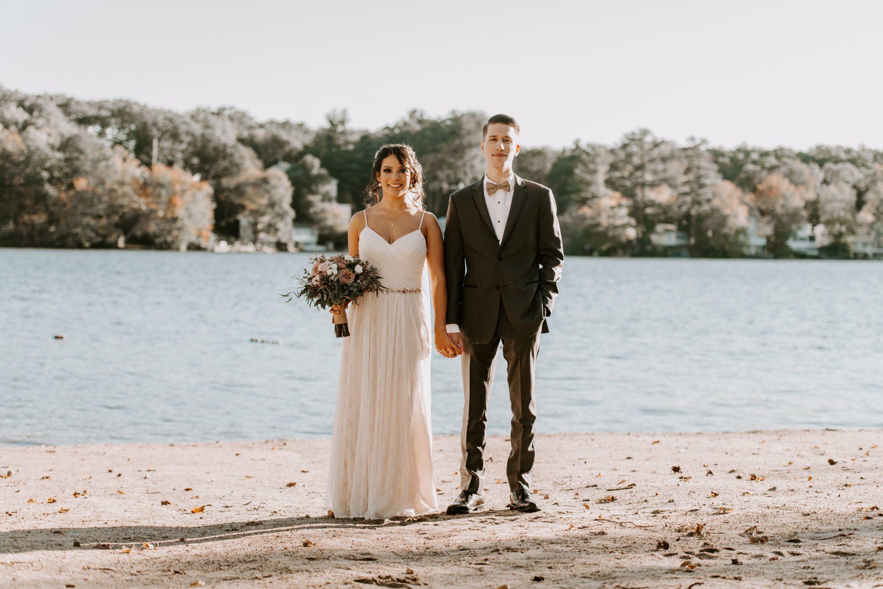 Lake Pearl Wrentham Wedding Olga and Caleb Blueflash Photography 10