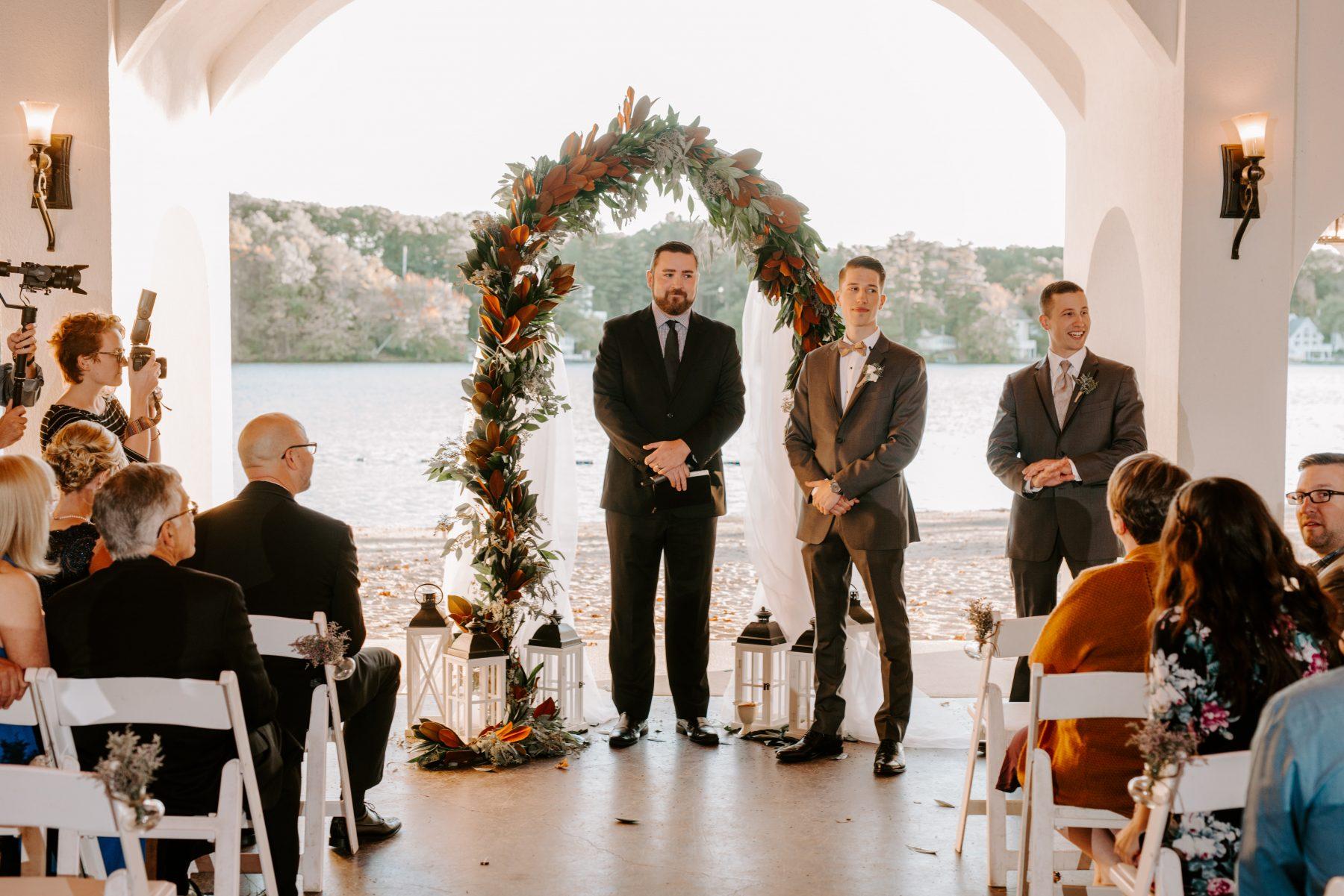 Lake Pearl Wrentham Wedding Olga and Caleb Blueflash Photography 17