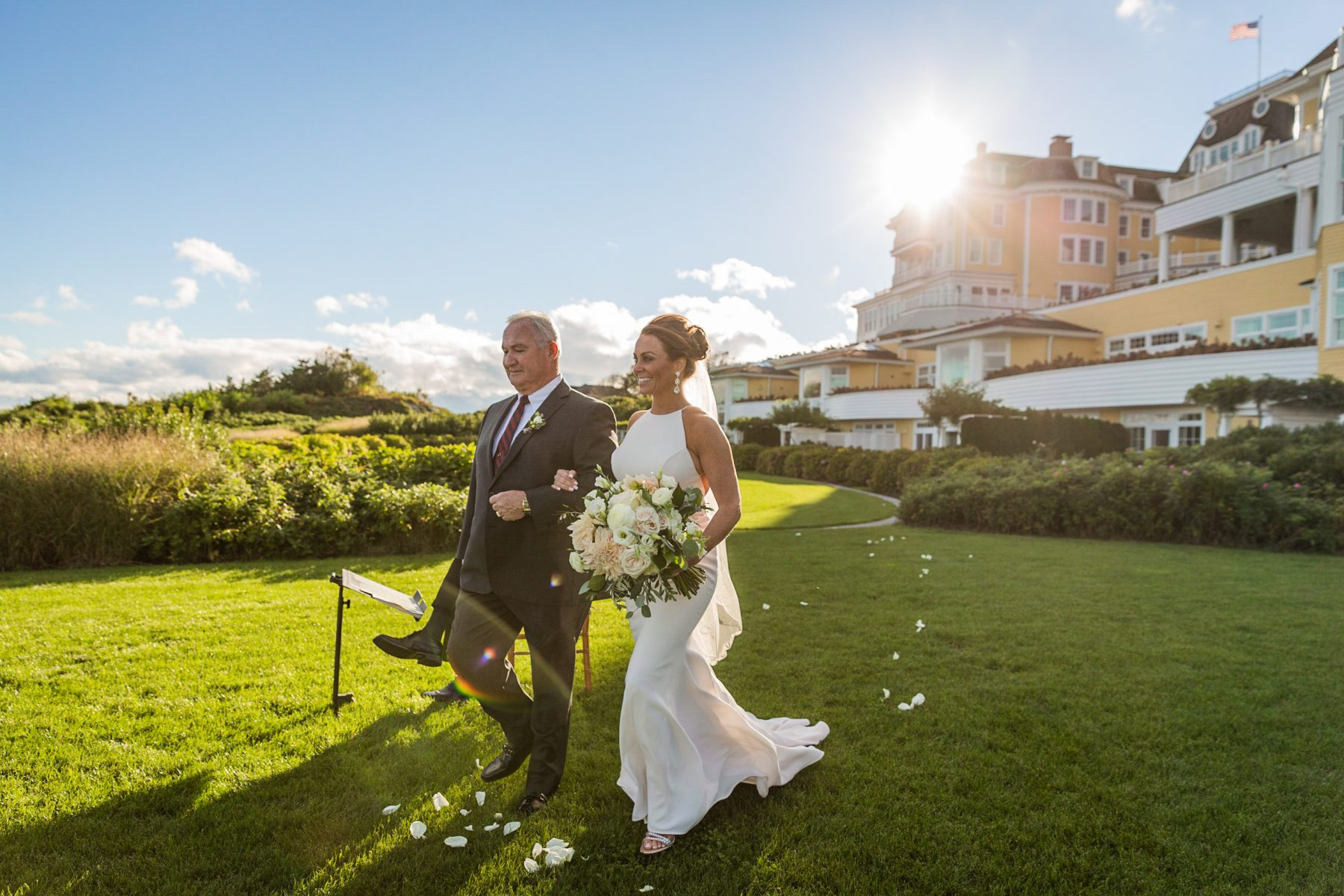 Ocean House Westerly Wedding Jessica and Mike Blueflash Photography 6