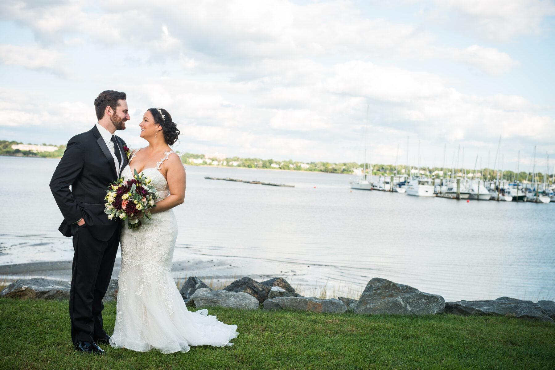 Rhodes on the Pawtuxet Cranston Wedding Carolyn and Tony Blueflash Photography 11