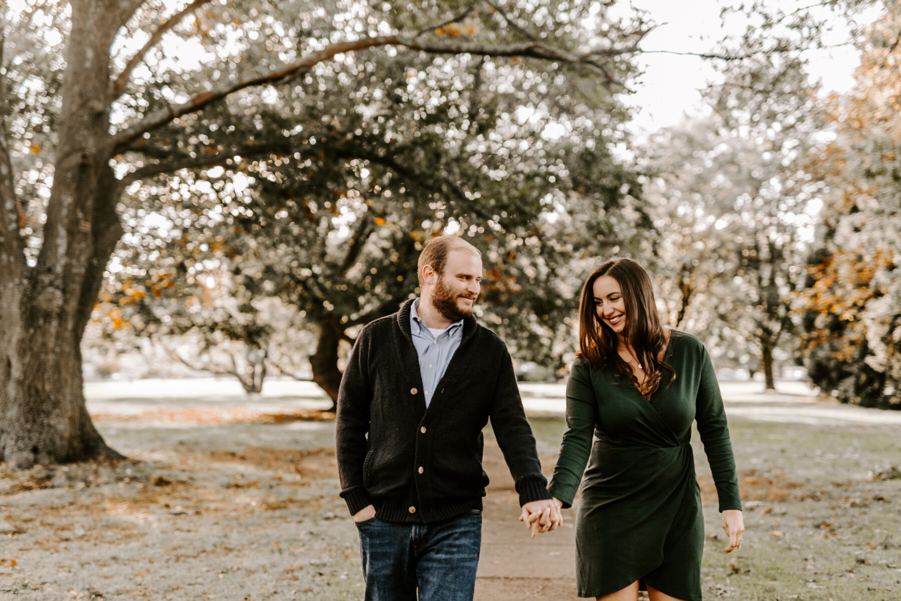 Roger Williams Park Providence Engagement Erica and Brian Blueflash Photography 1