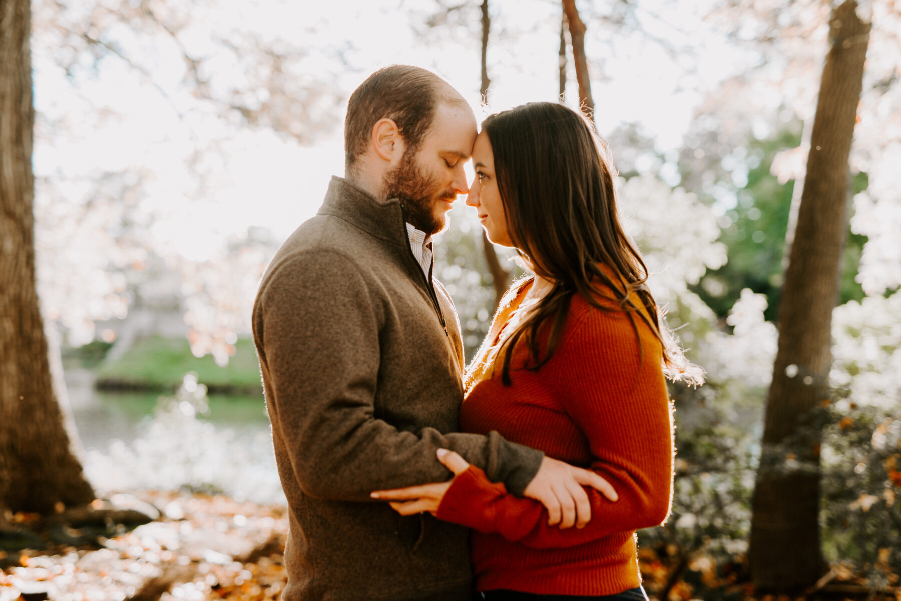 Roger Williams Park Providence Engagement Erica and Brian Blueflash Photography 10